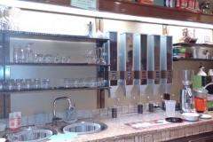 Silos per caffè in grani per la vendita del caffe macinato fresco