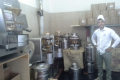 Tostatrice per caffè da banco tostabar genius k1 con modelli precedenti, torrefazione artigianale di caffè