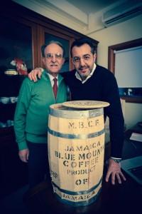 Angelo e Fernando Napoli produttori della tostatrice Tostabar Genius K1